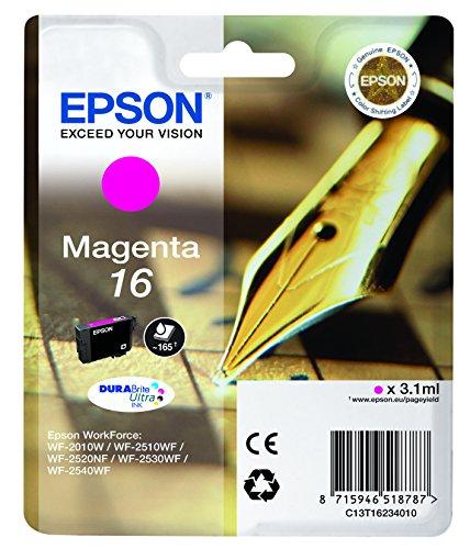 Preisvergleich Produktbild Epson Original T1623 Füller, wisch- und wasserfeste Tinte (Singlepack) magenta