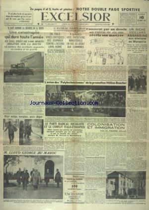 EXCELSIOR [No 9134] du 16/12/1935 - IL F...