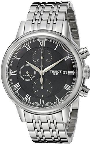 Tissot uomo T0854271105300Carson orologio analogico display svizzero automatico argento