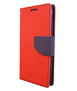COVERNEW Flip cover for Lenovo A7000 Red