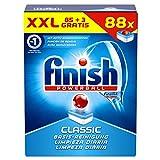 Finish Calgonit Classic, Spülmaschinentabs, XXL Vorteilspack, 88 Tabs  3 Stück gratis