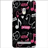Asus Zenfone 5 A501CG Back Cover - Music Designer Cases