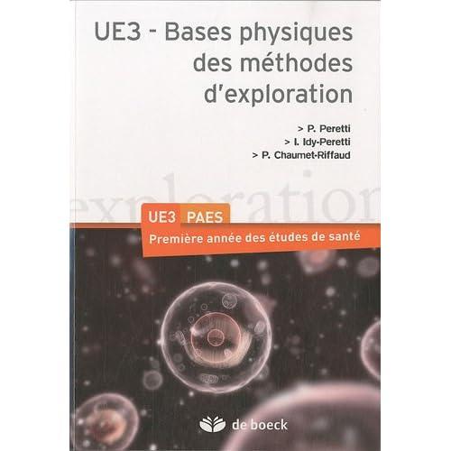Bases Physiques des Methodes d'Exploration