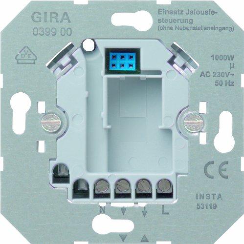 Preisvergleich Produktbild Gira 039900 Jalousiesteuerung Einsatz 230 V