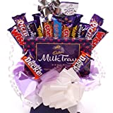 Large chocolate bouquet, packed with Cadbury chocolate...