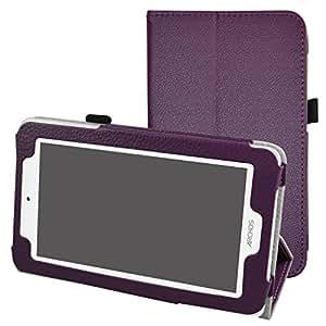 """Archos 70 Xenon Color / 70 Platinum 3G Custodia,Mama Mouth slim sottile di peso leggero con supporto in Piedi caso Case per 7"""" Archos 70 Xenon Color / 70 Platinum 3G Android Tablet PC,Viola"""