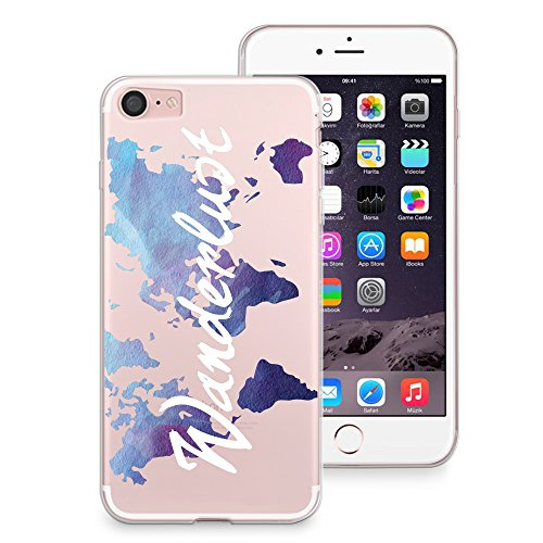 iPhone 7Fall, casesbylorraine Cute Muster Case Kunststoff Hard Cover für Apple iPhone 7, A66, iPhone 7 Plus Soft Case A19
