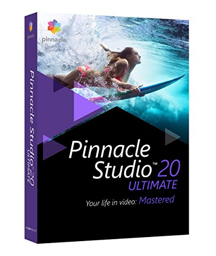 Corel Pinnacle Studio 20 Ultimate ML - Software De Gráficos