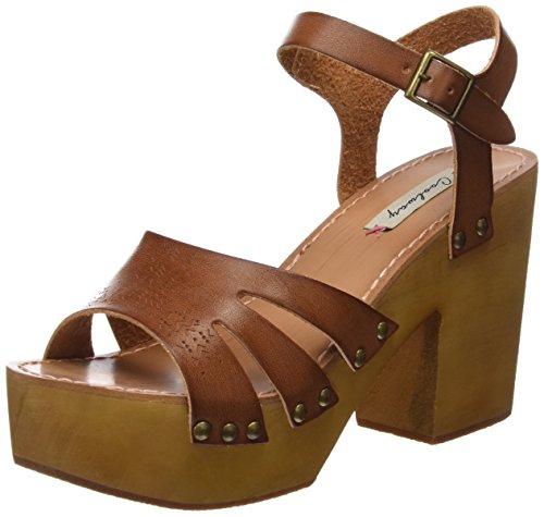 Coolway Cassandra, Chaussures à talon femme brown (CUE)