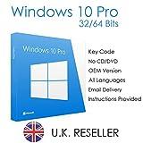 Windows 10 Pro Key 32/64 Bit English International | PC | Download
