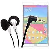 """Ecouteurs confortables et pratiques pour tablettes tactiles Samsung Galaxy Tab S2 8"""" (SM-T710 & T715) et Tab S 2 écran 9,7"""" (SM-T810 & T815) - DURAGADGET"""