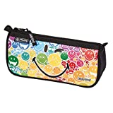 Herlitz 11438082 Smileyworld Astuccio Bustina Con Zip Fantasia Rainbow