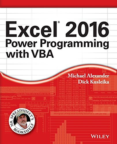 Read [pdf] Excel 2016 Power Programming with VBA (Mr