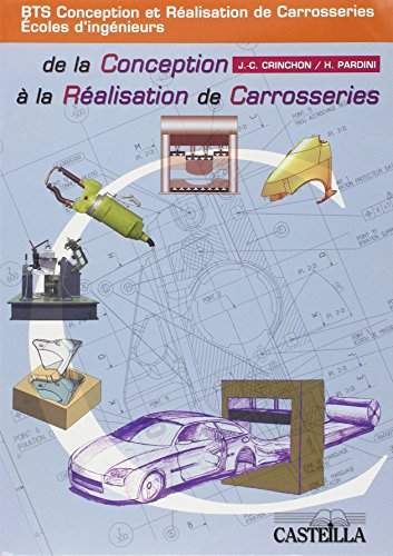 De la conception à la réalisation de carrosseries BTS CRC/Ecoles d'ingénieurs : 35 plans au format A2 par Jean-Charles Crinchon, H. Pardini