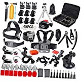 Phenovo 120-In-1 Action Camera Accessory Kit For GoPro Hero Session/5 Hero 1 2 3 3+ 4 5 6 SJ4000 5000 6000 DBPOWER AKASO VicTsing APEMAN WiMiUS Rollei QUMOX L