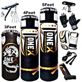 Onex NEW 3-4-5 FT Filled Heavy Punch Bag Buyer...