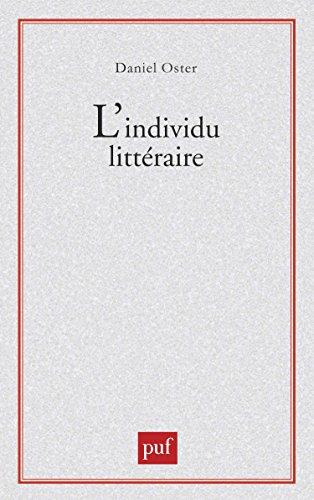 L'individu littéraire