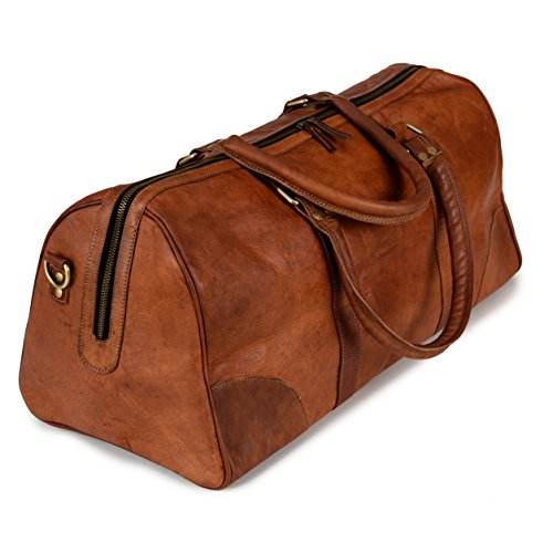 Weekender Berliner Bags Meran L Reisetasche aus Leder Qualität V...