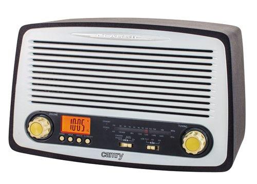 Camry CR1126 Retro Radio Weiß/Schwarz - Camry Stereo