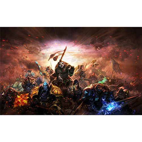 World Of Warcraft II WoW Poster On Silk <56cm x 35cm, 23inch x 14inch> - Seide Plakat - F0D831