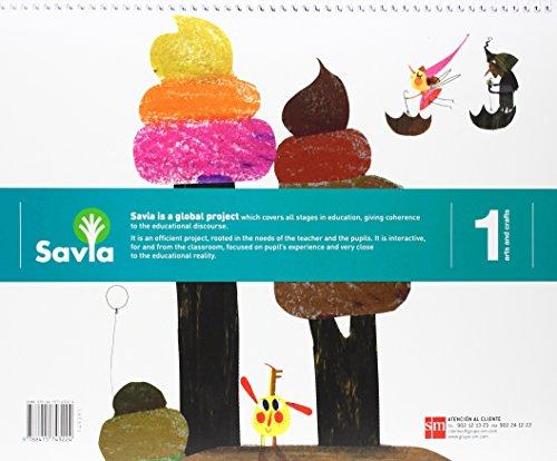 Arts and crafts. 1 Primary. Savia - 9788415743224