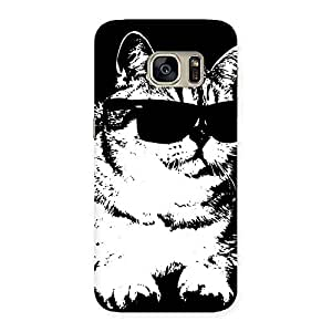 Special Thug Cat Back Case Cover for Galaxy S7