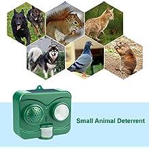 Gato Repelente, ag-so-so ultrasónico Ahuyentador de animales Solar funciona con pilas movimiento activado al aire libre impermeable electrónico perro Fox pájaro–Repelente de gatos de disuasión