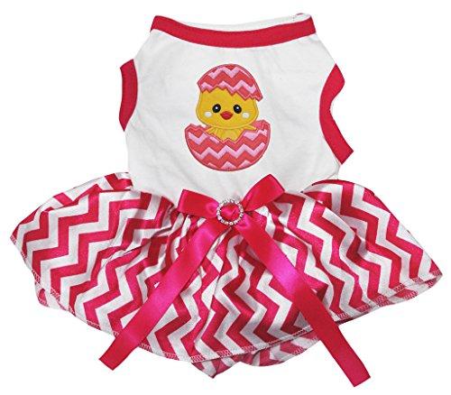 Petitebelle Damen Kleid rosa weiß XX-Large