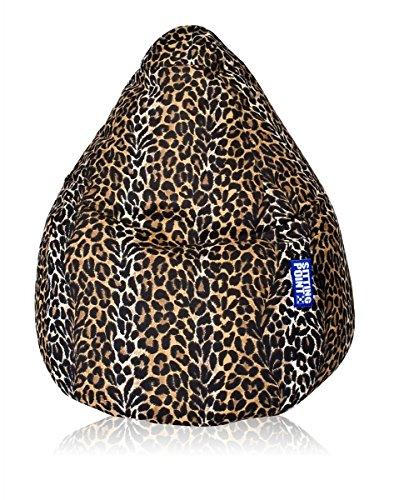 Sitzsack Afro XXL ca. 300 Liter (Leopard)