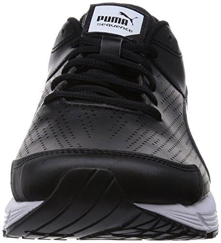Puma Sequence Sl, Running Entrainement Adulte Mixte Noir (Black/Black)