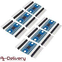 5X IIC I2C Logic Level Konverter Bidirektionales Modul5V zu3.3V Für Arduino ZJP