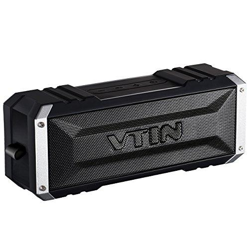 Vtin Punker - Altavoz bluetooth estéreo premium 20W con radiador pasivo, altavoz inalámbrico portátil con 25-30 horas de emisión continua, es ideal para viaje, fiesta, playa, coche, habitación, etc