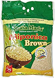 Doña Maria Rice Miponica Brown Rice - 5 Kg