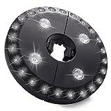 LEDGLE Lampada per Ombrellone con 28 LED, Lampada da Tenda/Ombrellone, 3 Modalità, 200LM, 6000k, 3W, Perfetto per Esterni, Campeggio, Tende