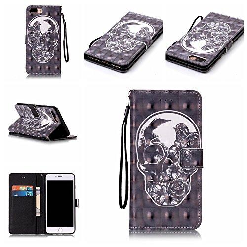 Coque iPhone 7, Meet de pour Apple iPhone 7 (4,7 Zoll) Folio Case ,Wallet flip étui en cuir / Pouch / Case / Holster / Wallet / Case, Apple iPhone 7 (4,7 Zoll) PU Housse / en cuir Wallet Style de couv B