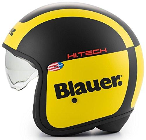 Blauer Casco HT PILOT 1.1 BLACK YELLOW Graphic C (XL)