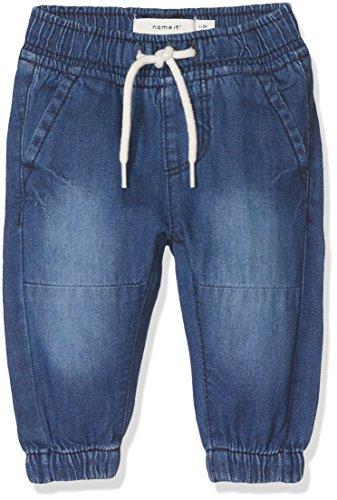 NAME IT Baby-Jungen Jeans Nbmromeo Dnmaben 3051 Pant, Grau (Dark Blue Denim Dark Blue Denim), 80