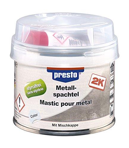 Preisvergleich Produktbild presto Metallspachtel, 250 g, 1 Stück, grau, 443466