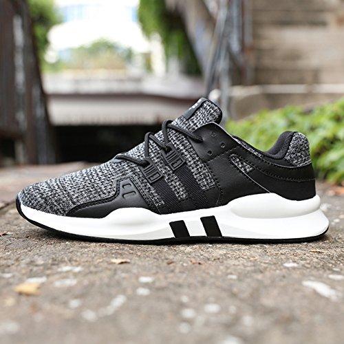 Senbore Mens Sneakers Sneakers Casual Shoes Comode Scarpe Da Ginnastica Stringate Scarpe Da Corsa Grigie