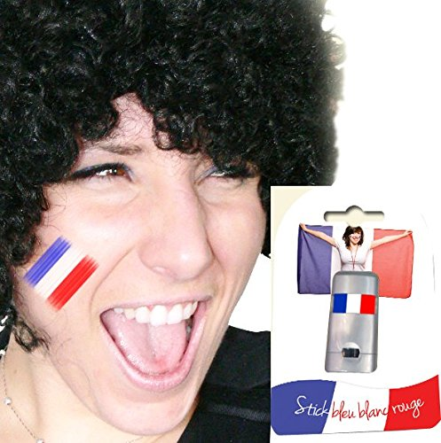 Maquillage France - Supporters - Taille Unique