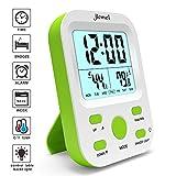 Best Alarm Clocks For Kids - jiemei Alarm Clock Battery Operated, Digital Alarm Clocks Review