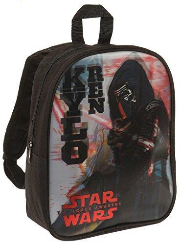 Sac à dos 3D enfant garçon Star wars 'Kylo Ren' Noir 28cm
