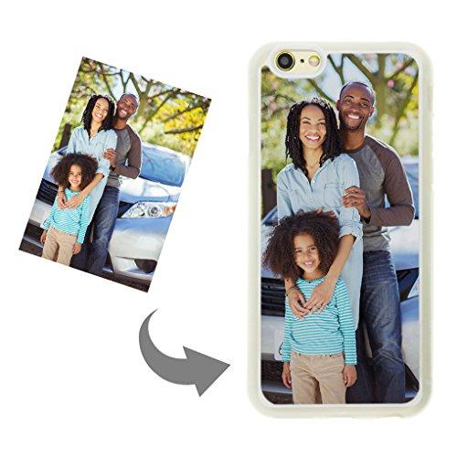 YSXY Personalisieren Sie Ihren eigenen Handy Hülle - Individuelle Fotos Dünne DIY Handy Hülle für iPhone6/6S Transparent Schutzhülle Schönes Andenken Geschenk für Ihr Baby, Geliebte, Eltern, Freund