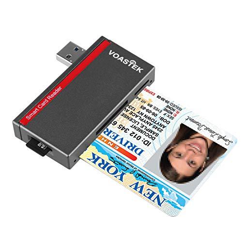 VOASTEK Inteligente USB 3.0 Lector Tarjetas   Lector