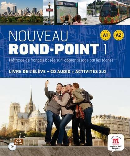 Nouveau Rond-Point 1 - Livre élève + CD (Fle- Texto Frances) por Catherine Flumian