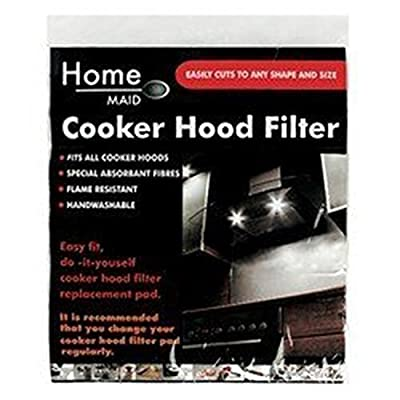 Cooker hood Filter, Cut to size, fits most types, Special Absortant Fibres : everything 5 pounds (or less!)