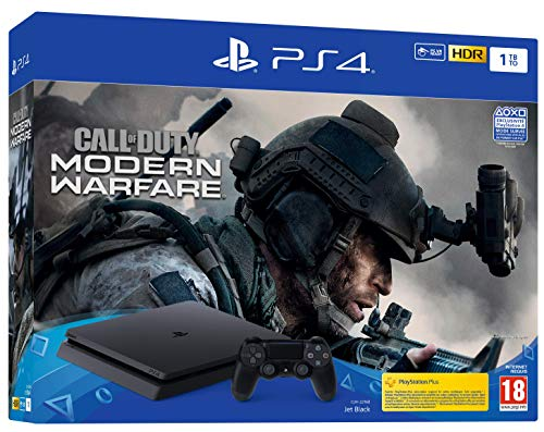 Pack  PS4 Slim 1 To F + Call Of Duty Modern Warfare