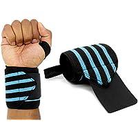 MyGadget Elastische Handgelenk Bandagen - 2X Sport Handgelenkbandage (Daumenschlaufe) Kompression für Fitness,... preisvergleich bei billige-tabletten.eu