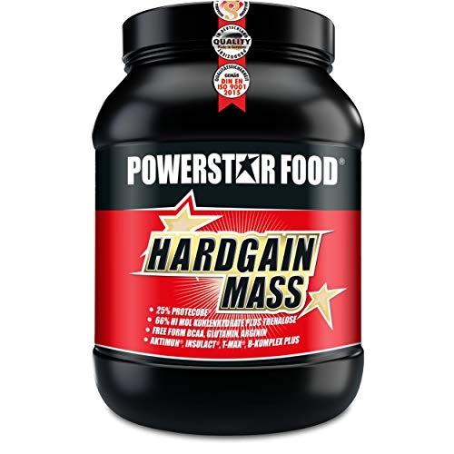 WEIGHT GAINER für HARDGAINER & MASSEPHASE - 406 kcal pro Kalorienshake - für mehr Masse, Kraft & schnelleren Muskelaufbau - Made in Germany (Chocolate, 2000 g Dose)
