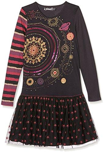 st_Nairobi Kleid, Grau (Carbon 2017), 104 (Herstellergröße: 3/4) ()